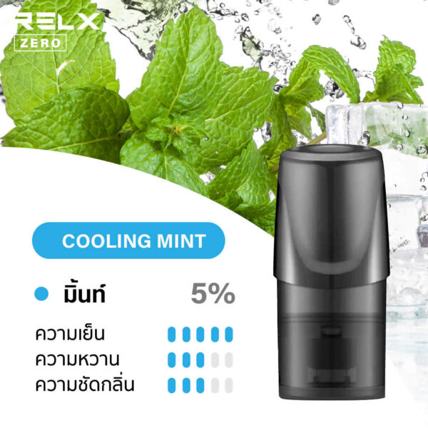 relx pods Cooling Mint